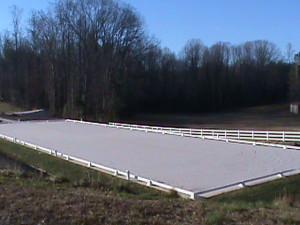 Dressage Arena at Respite Farm